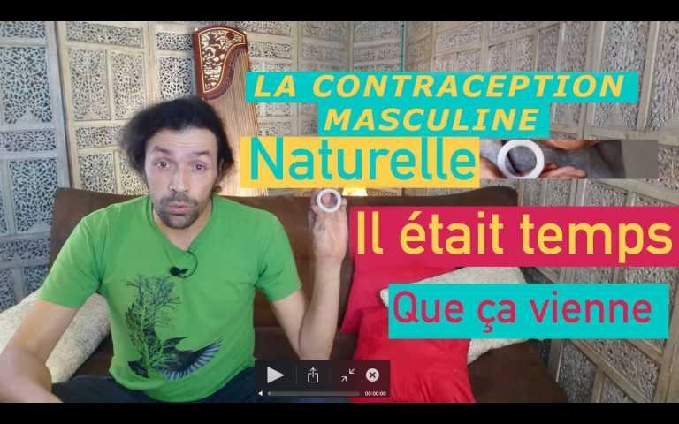 Contraception masculine naturelle